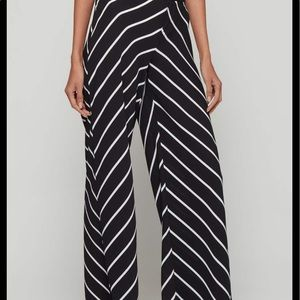 Bar III Womens Mid-Rise Pleated Wide Leg Pants